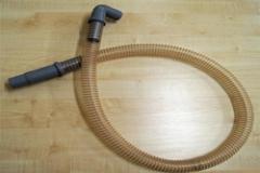 Шланг полиуретановый 3м. Применяется во всех типах оборудования по чистке пухо-перовых изделий